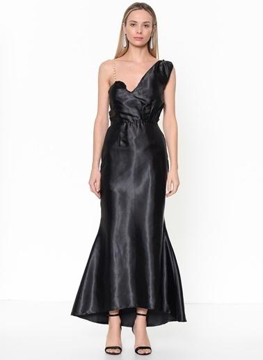 Tantrona Elbise Siyah